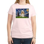 Starry / Cocker #1 Women's Light T-Shirt