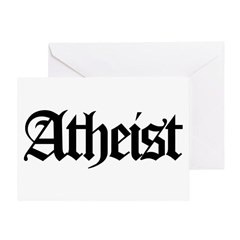 Official Atheist Greeting Card