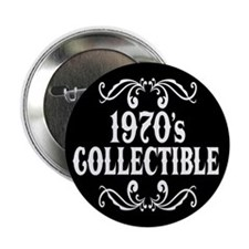 "1970's Collectible Birthday 2.25"" Button (100 pack"