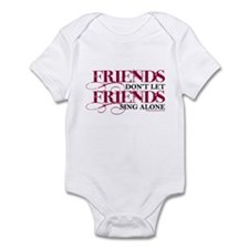 Friends Don't Let Friends Infant Bodysuit