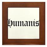 Humanist Framed Tile