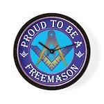 Masonic Pride Wall Clock