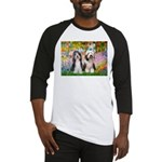 Garden / 2 Bearded Collie Baseball Jersey