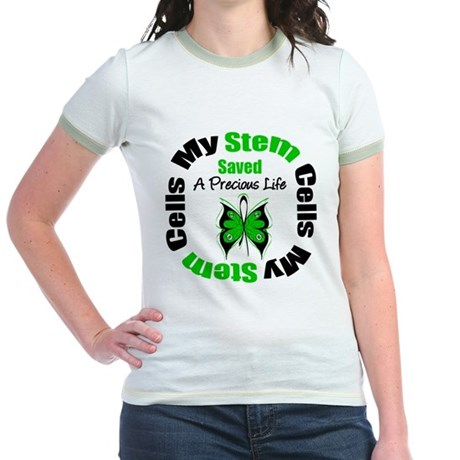 Stem Cells Saved Life Jr. Ringer T-Shirt