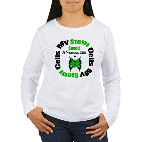 Stem Cells Saved Life Women's Long Sleeve T-Shirt