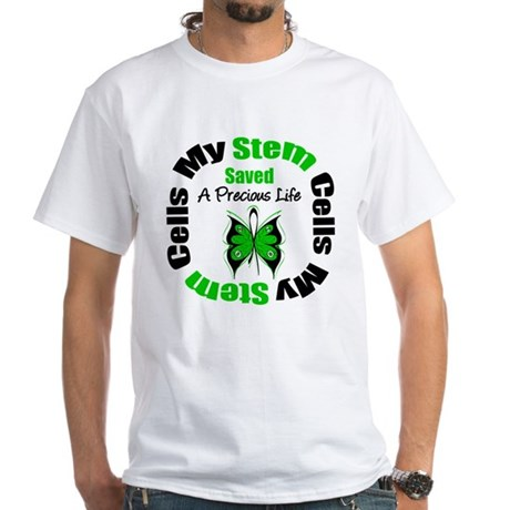 Stem Cells Saved Life White T-Shirt