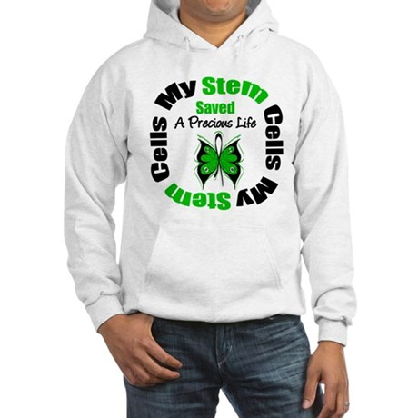 Stem Cells Saved Life Hooded Sweatshirt