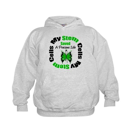 Stem Cells Saved Life Kids Hoodie