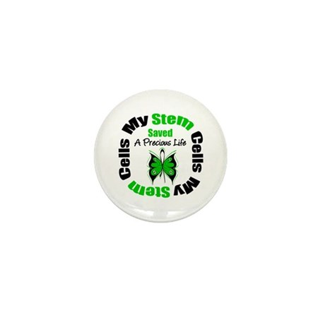 Stem Cells Saved Life Mini Button