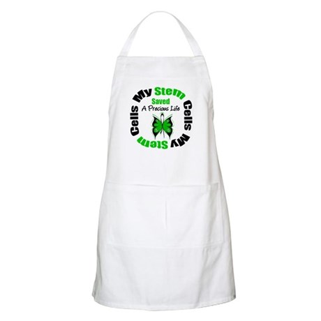 Stem Cells Saved Life BBQ Apron