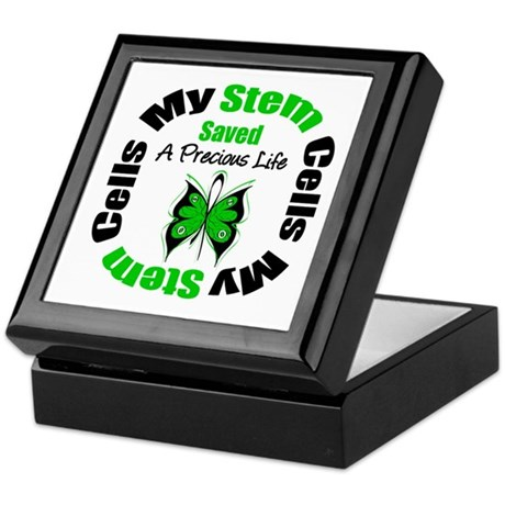 Stem Cells Saved Life Keepsake Box