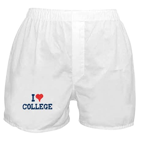 I Love College Boxer Shorts