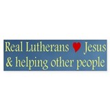 Jesus and Helping Others Bumper Sticker (50 pk)