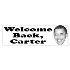 welcome back carter Bumper Bumper Sticker
