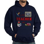 Teachers Do It With Class Hoodie (dark)