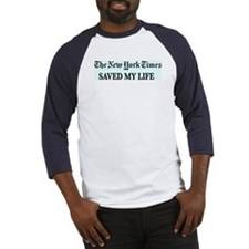 Cute Saved life Baseball Jersey