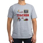 Teachers Do It With Class Men's Fitted T-Shirt (da