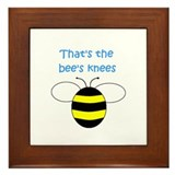 THAT'S THE BEE'S KNEES Framed Tile
