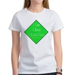 I Kicked Grass Women's T-Shirt