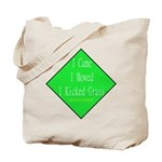 I Kicked Grass Tote Bag
