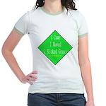 I Kicked Grass Jr. Ringer T-Shirt
