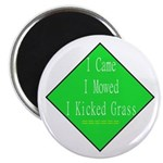 "I Kicked Grass 2.25"" Magnet (10 pack)"