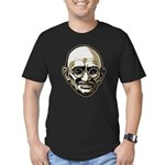Mahatma Gandhi Men's Fitted T-Shirt (dark)