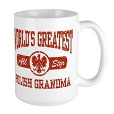 World's Greatest Polish Grandma Mug
