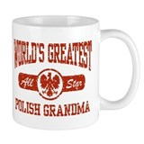 World's Greatest Polish Grandma Small Mugs