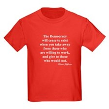 """End of Democracy"" T"