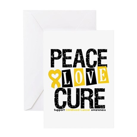 Childhood Cancer Cure Greeting Card