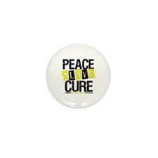Bladder Cancer Cure Mini Button (100 pack)