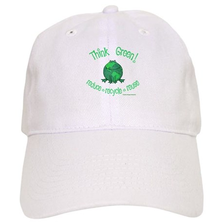 Earth Day Frog Cap