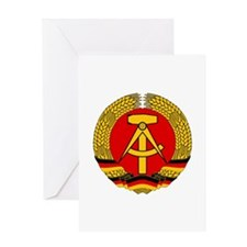 East Germany 1959-1990 Greeting Card