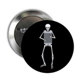 "Rubboard Skeleton 2.25"" Button"