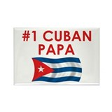 #1 Cuban Papa Rectangle Magnet
