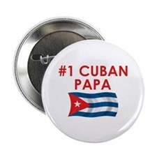 "#1 Cuban Papa 2.25"" Button"