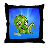 Baby Iguana Throw Pillow