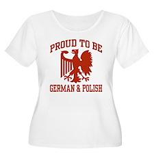 Proud German Polish T-Shirt