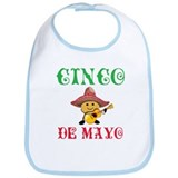 Fun Cinco De Mayo Bib