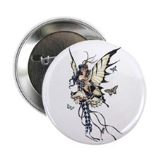 "Harlequin Fairy 2.25"" Button (100 pack)"