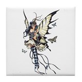 Harlequin Fairy Tile Coaster