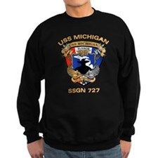 USS Michigan SSGN 727 Sweatshirt