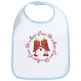 Dancing Peppers Cinco De Mayo Bib