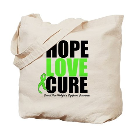NonHodgkins HopeLoveCure Tote Bag