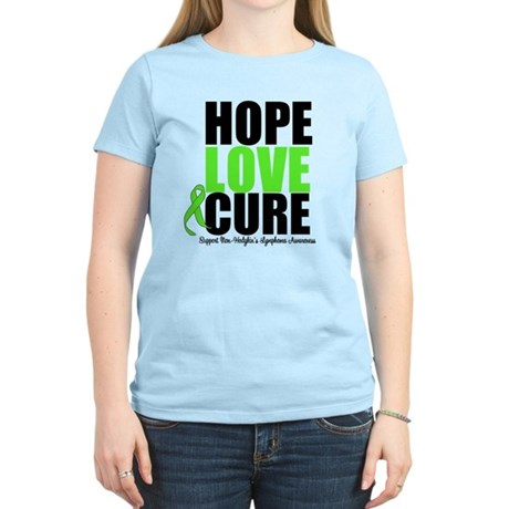 NonHodgkins HopeLoveCure Women's Light T-Shirt