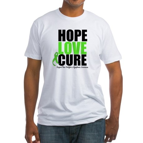 NonHodgkins HopeLoveCure Fitted T-Shirt