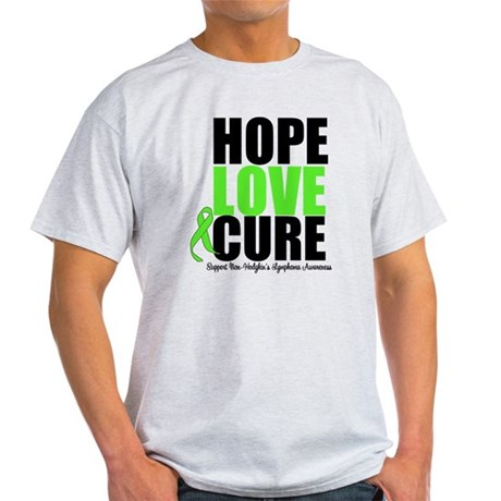 NonHodgkins HopeLoveCure Light T-Shirt