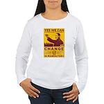 Stimulate Tyranny! Women's Long Sleeve T-Shirt