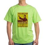 Stimulate Tyranny! Green T-Shirt